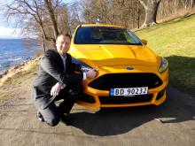 Per Gunnar Berg, ny adm. dir for Ford Motor Norge, overtar ansvaret for et bilmerke i medvind