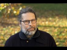 Jens Edlund, universitetslektor på avdelningen Tal, musik och hörsel vid KTH. Foto: Susanne Kronholm