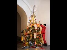 Juldekorationer av Martin Bergström