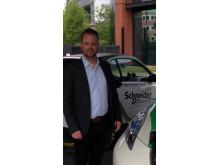 Kjetil Hulbach, Sales Manager EVlink Charging Infrastructure for Electric Vehicle