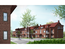 Nya lägenheter kvarteret Väduren Värnamo.