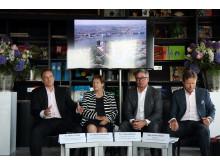 Pressekonferenz holländische Medien