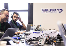 Panalpina taking part in a hackathon