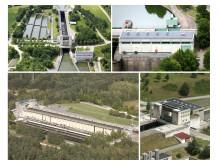 Sanierungspreis 15 Flachdach: Dachsanierung Schleusengebäude Hilpoltstein am Main-Donau-Kanal