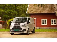 Transit Custom Sport viser solig salgsvekst i Norge sammenlignet med samme periode i fjor