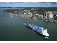 Port of Naantali (Suomen Ilmakuva)