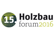 Logo 15. Holzbauforum 2016