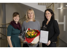 Umeå Biotech Incubator får jämställdhetspriset 2016