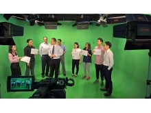 On set with APACD participants
