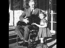 Franklin D. Roosevelt, i rullstol