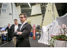 Båtmässan 2014  Världspremiärvisning i Nimbus monter