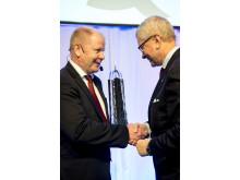 Mottagare Utmärkelsen Svensk Kvalitet 2014 MTR Stockholm