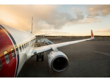 Norwegian Boeing 737 aircraft