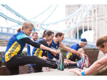 London City Athletics, Runners, Stretch