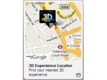 3D store locator