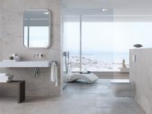 Geberit vägghängt WC-system - badrumsinspiration