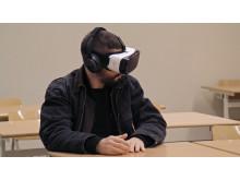 En skoldag. I virtual reality.