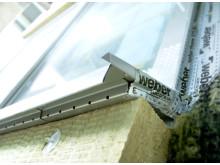 Weber P-märkta fasader - tätning runt fönster
