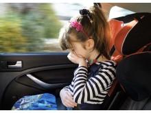 Køresyge på bilferien