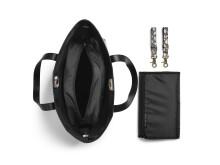 AW18 - Diaper bag Midnight Bells (open)