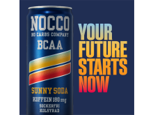 NOCCO Sunny Soda – Your future starts now!