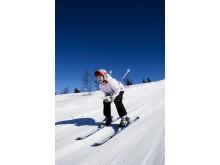 Det är kul att åka skidor!