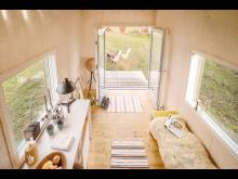 Tiny House mit Kebony Holzfassade