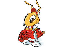 Skaparglädjes maskot Baui, bild 1