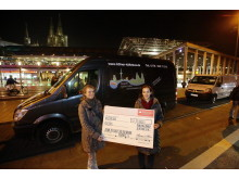 Spende Kölner Obdachlosenbus