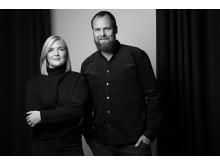 Toke Tude Trangbæk og Stephanie Wiese_Fotograf Emil Lyders