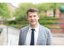Andreas Schönström (S), ordförande i Malmö stads tekniska nämnd