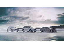BMW iNEXT, BMW i4 og BMW iX3 vintertest