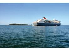 Balmoral at sea