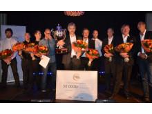 Sven Edwardson från Göteborg vinnare i Coffee Professionals Cup