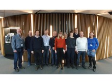 Projektgruppen samlet for første gang efter offentliggørelsen