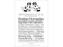 Ærø Dog Days 2018 plakat