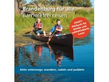 Umschlag DAISY Hörbuch Brandenburg für alle Barrierefrei reisen