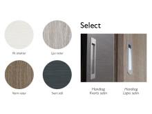 Select färgpalett och handtag