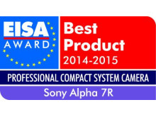European Professional Compact System Camera of the year 2014-2015: α7R