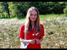 Josefine Wivel Vartiainen, elev på H.C. Ørsted Gymnasiet