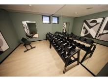 Moderner Fitnessbereich