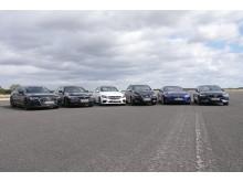 Ten new cars