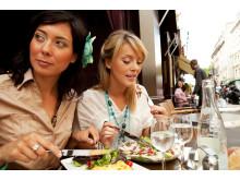 I uge 42 er der gode chancer for at kunne spise en udendørs frokost i Paris.