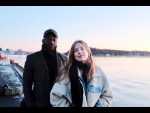 Ibou Cissokho og Selma Bolstad - fotoMarcus Tveit Karkash