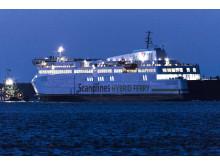 Scandlines' nye færge har forladt værftet