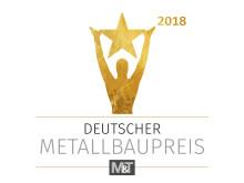 Logo Deutscher Metallbaupreis 2018