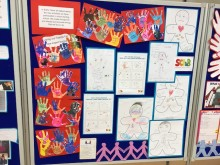 Some of the work on display at the SCIB end-of-year event