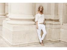 KappAhl Norge hvite bukser Bilder