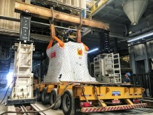 Unloading of hydraulic press in Brazil
