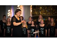Anne Karin Sundal-Ask, dirigent for Det Norske Jentekor siden 2005 er tildelt prisen Årets utøver 2019